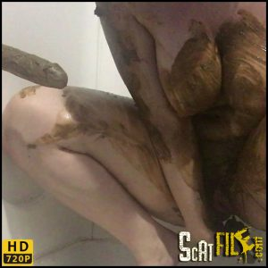 Silent Smear Playtime – ChubbiBunni – Poop Videos, Scat solo, Smearing, Efro