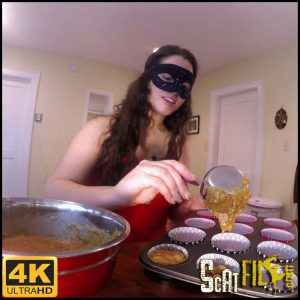 Slave Deserves A Treat! Baking Poop Muffins! – LoveRachelle2 Scat