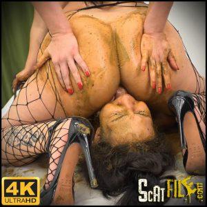 Shit Job – Victoria, Nicole, Saori Kido – NewMFX lesbian scat MF-7681-1