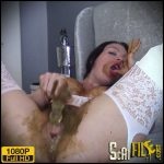 Filthy Scat Play On My Bed – evamarie88 – Poop Videos, Scat, Smearing