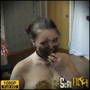 Eat my tasty shit, my happy toilet – Natalia Kapretti – new Scat and Piss Femdom