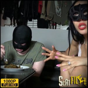 Eating a mountain of shit – Mistress Gaia – Amateurs Scat, Scat and Piss Femdom