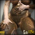 Happy and Smeary – ChubbiBunni – Poop Videos, Scat solo, Smearing