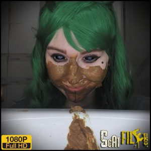 What's this? A girl with shit? – DirtyBetty – Scat Solo, Extreme Scat, Russian Scat