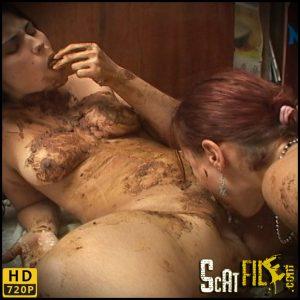 Relieving A Bellyache – Leslie , Alanis – NewMFX scat porn, lesbian porn