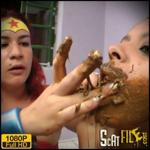 Scat Wonder Woman – Yara Amorin & Nikki – SG-Video lesbian scat porn