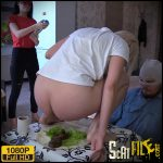 Shawarma stuffed with girls' shit – MilanaSmelly – Russian Scat, Amateurs Scat
