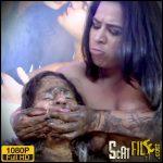 Scat Face And Body – Victoria , Jennifer – Lesbian Scat Domination MF-8231-1