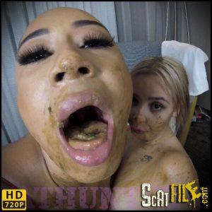 Clash Of The Scat Titans (Lesbian Lust) – Scathunter – Shit tits, Spanish Scat Slut