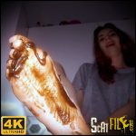 Clean up my feet – HotDirtyIvone – new Scat Solo, Amateurs Scat, Dirty Foot