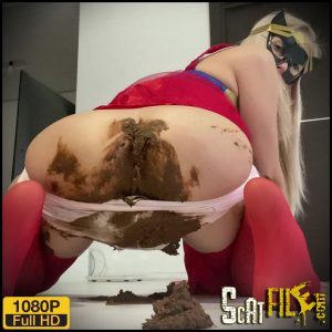 Super Girl Super Shit – thefartbabes – Panty Pooping, Poop Videos, Smearing