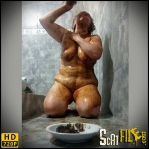 Fun in the shower – Alexandra – Pee, Poop Videos, Smearing, Vomiting
