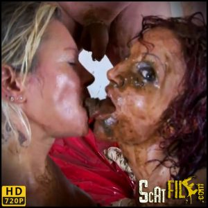 KIRA & MOLLY – BUTTHOLE NURSES – scat porn 2021, Extreme Scat