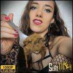 Femdom Scat POV Education (in German) – MissMortelle – Toilet Slavery 2021