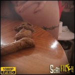 I shit a lot on the table! – badkithy – Farting, Pee, Poop Videos, Scat, Smearing