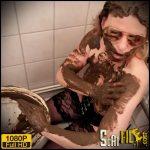Pooping eating cleaning the toilet – SLUT-ORGASMA CELESTE MMMmmm