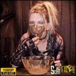 Scat swallowing and puke show – SLUT-ORGASMA CELESTE – VIP Scat